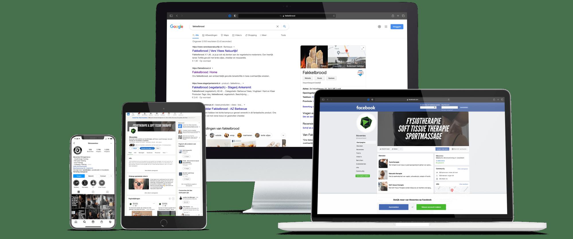 Voorbeelden van je online marketing uitbesteden bij Social Road